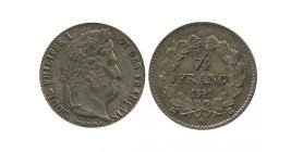 1/4 Franc Louis Philippe Ier