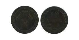 10 Centimes Napoleon Ier Premier Empire