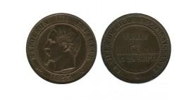 Module de 10 Centimes Napoleon III Visite de la Monnaie de Lille