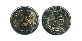 2 Euros 10 Ans de L'euro Malte