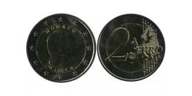 2 Euros Albert Monaco