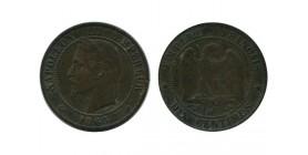 10 Centimes Napoleon III Tête Laurée