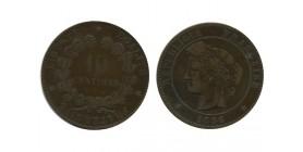 10 Centimes Ceres Troisième République