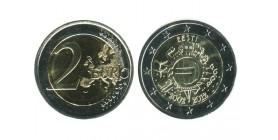 2 Euros 10ème Anniversaire Estonie