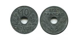 10 Centimes Etat Français Grand Module