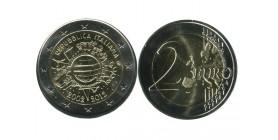 2 Euros 10ème Anniversaire Italie