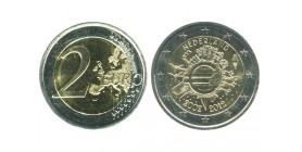 2 Euros 10ème Anniversaire Pays-Bas