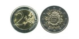 2 Euros 10ème Anniversaire Slovaquie