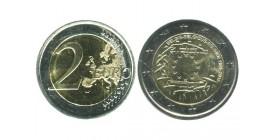 2 Euros Les 30 ans du Drapeau belgique