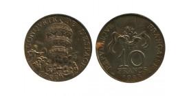 10 Francs Conquete de L'espace Essai