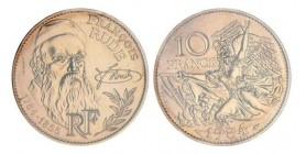 10 Francs Rude Essai