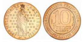 10 Francs Hugues Capet Essai