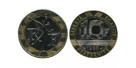 10 Francs R.f. Genie de la Bastille Essai