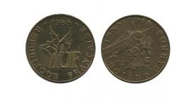 10 Francs Roland Garros