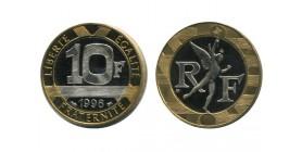 10 Francs R.f. Genie de la Bastille