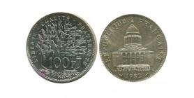 100 Francs Panthéon Piéfort en argent