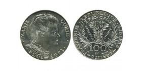 100 Francs Marie Curie