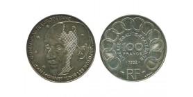 100 Francs Jean Monnet
