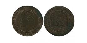 2 Centimes Napoleon III Tête Laurée