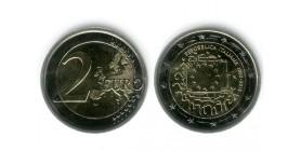 2 Euros Les 30 ans du Drapeau italie