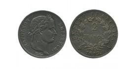 2 Francs Napoleon Empereur Cent Jours