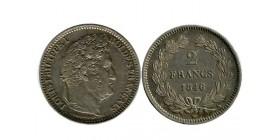 2 Francs Louis Philippe Ier Tête Laurée