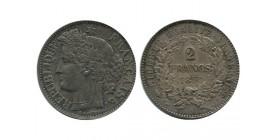 2 Francs Ceres Deuxième République