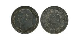 2 Francs Napoleon III Tête Nue