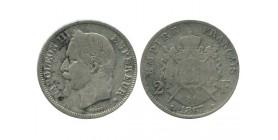 2 Francs Napoleon III Tête Laurée