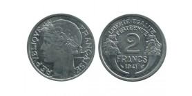 2 Francs Morlon Aluminium Etat Français