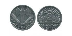 2 Francs Bazor Aluminium Etat Français