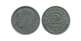 2 Francs Morlon Aluminium Gouvernement Provisoire