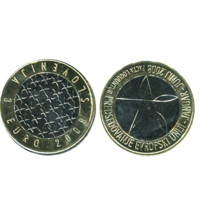 3 Euros Slovénie