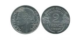 2 Francs Morlon Aluminium Quatrième République