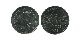 2 Francs Semeuse Essai Nickel