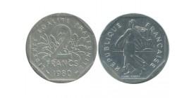 2 Francs Semeuse Piéfort En Argent