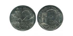 2 Francs Louis Pasteur