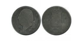 2 Francs Louis XVIII