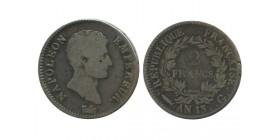 2 Francs Napoleon Empereur Calendrier Révolutionnaire