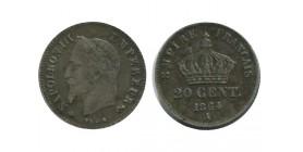 20 Centimes Napoleon III Tête Laurée Petit Module Second Empire