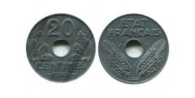 20 Centimes Etat Français type 20
