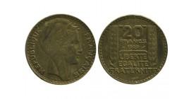 20 Francs Turin Essai Bronze Aluminium