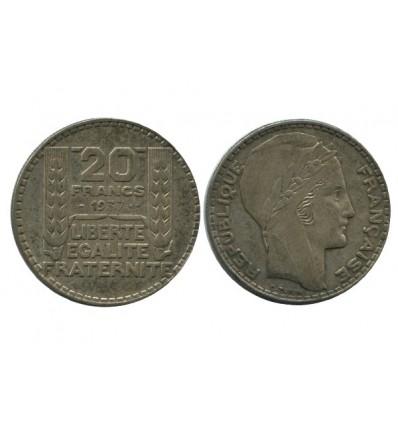 20 Francs Turin Troisième République