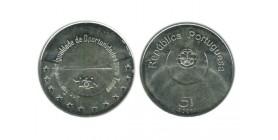5 Euros Portugal Argent