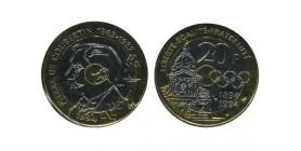 20 Francs Pierre de Coubertin