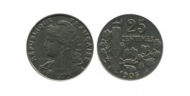 25 Centimes Patey Deuxième type