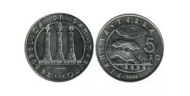 5 Euros Saint Marin Argent