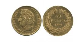 40 Francs Louis Philippe Ier