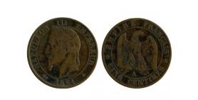 5 Centimes Napoleon III Tête Laurée