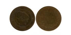 5 Centimes Ceres Troisième République